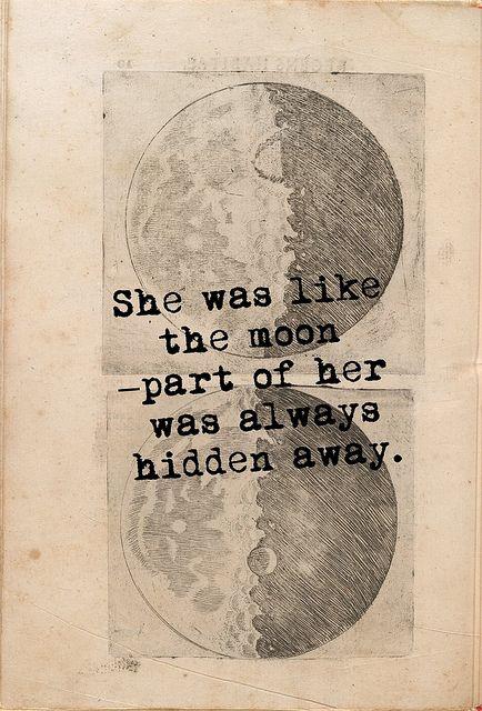 in between the moon andyou
