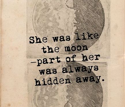 in between the moon and you
